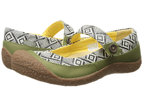 Keen - Harvest MJ Button (Loden Green/Black) Women's Flat Shoes