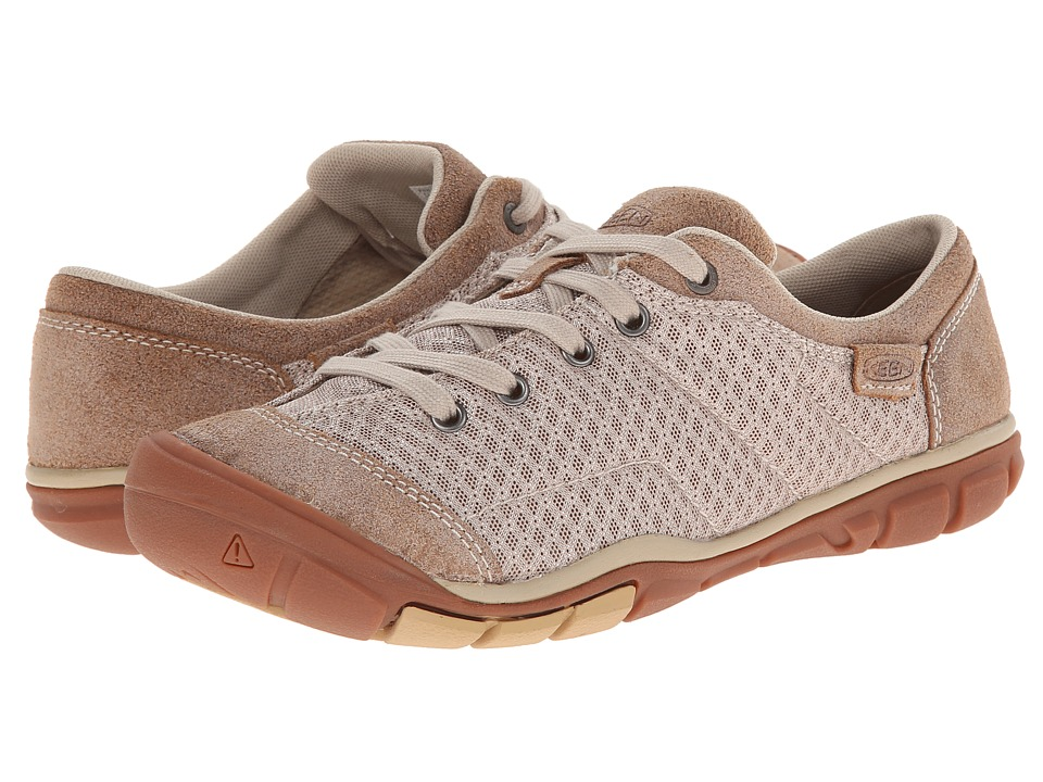 Keen - Mercer Lace II CNX (Latte) Women's Lace up casual Shoes