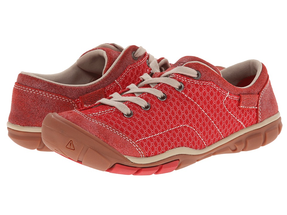 Keen Mercer Lace II CNX (Ribbon Red) Women