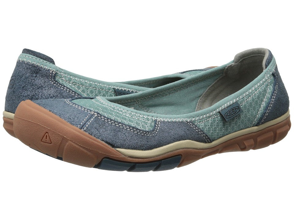 Keen - Mercer Ballerina CNX (Mineral Blue) Women's Shoes