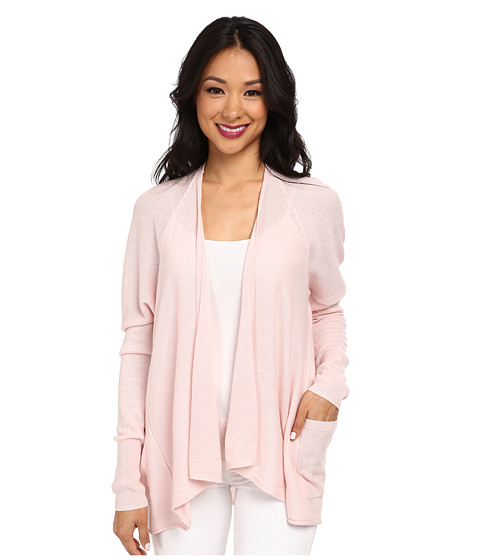 Autumn Cashmere - Drape with Pockets Cardigan (Bare) Women