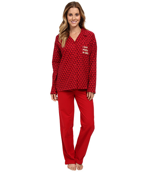 BCBGeneration - Pizza Party (Red) Women's Pajama Sets