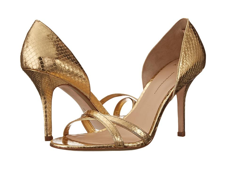 Aerin Cocobay (Gold Metallic Snake) High Heels