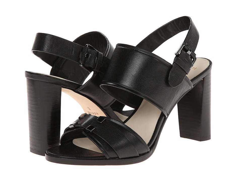Aerin Gigi (Black Saffiano/Calf) High Heels
