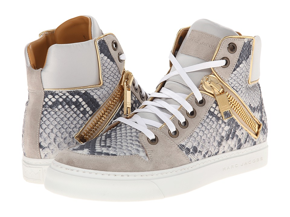 Marc Jacobs - Zipper Detail High Top (Vapor) Men
