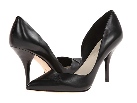 Aerin - Frieda (Black/Black Dress Calf/Saffiano) High Heels
