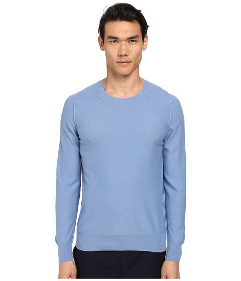 Marc Jacobs - Cashmere Silk Crew Neck Sweater (Blue Sky) Men's Long Sleeve Pullover