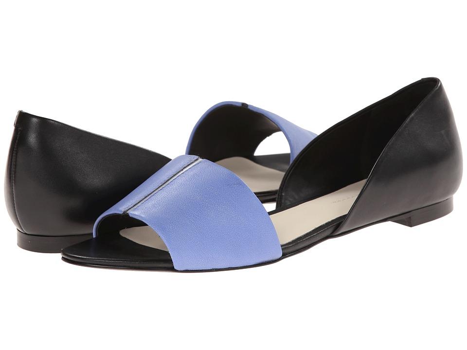 Image of Aerin - Baker (Bluebell/Black Matte Nappa/Dress Calf) Women's Sandals
