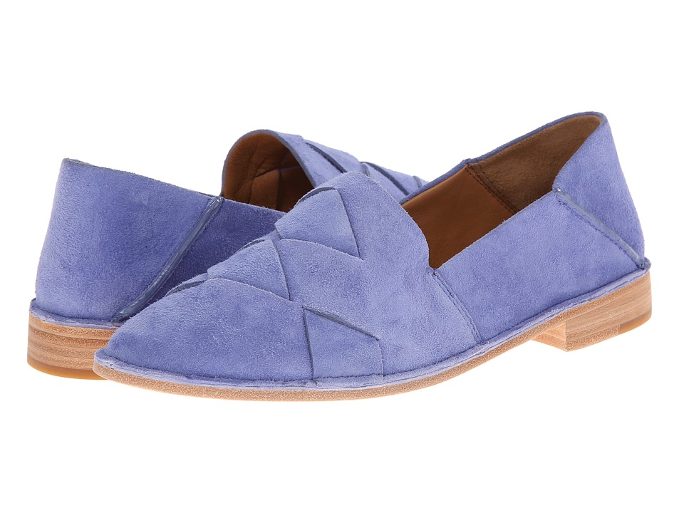 Aerin - Hawley (Bluebell Suede) Women's Slip on Shoes