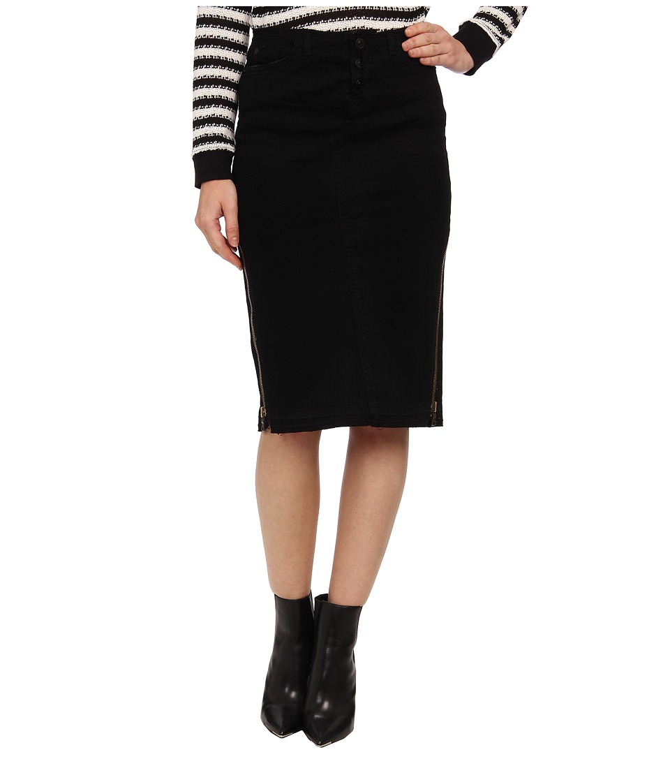 Hudson - Vivienne Pencil Skirt in Overkill (Overkill) Women