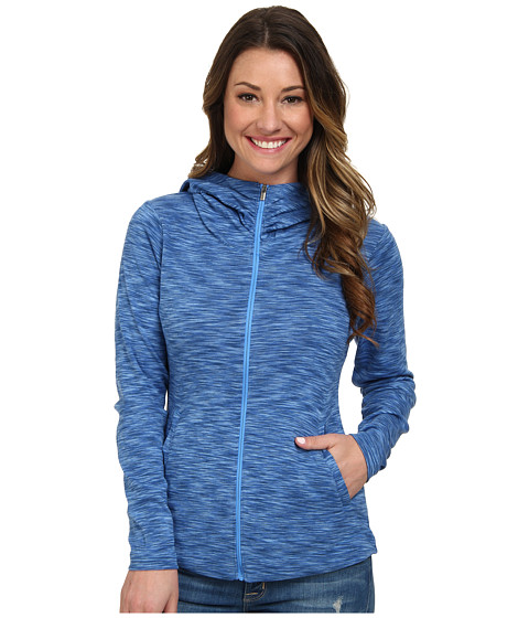 Columbia - OuterSpaced Full Zip Hoodie (Harbor Blue) Women