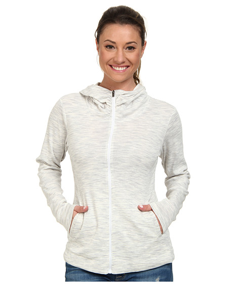 Columbia - OuterSpaced Full Zip Hoodie (White) Women's Sweatshirt