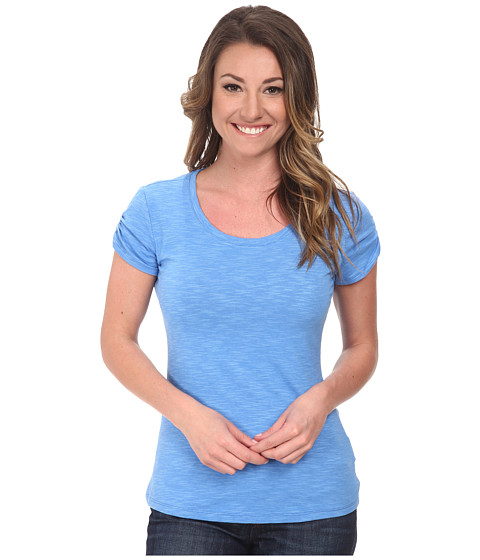 Columbia - Rocky Ridge Tee (Harbor Blue) Women's T Shirt
