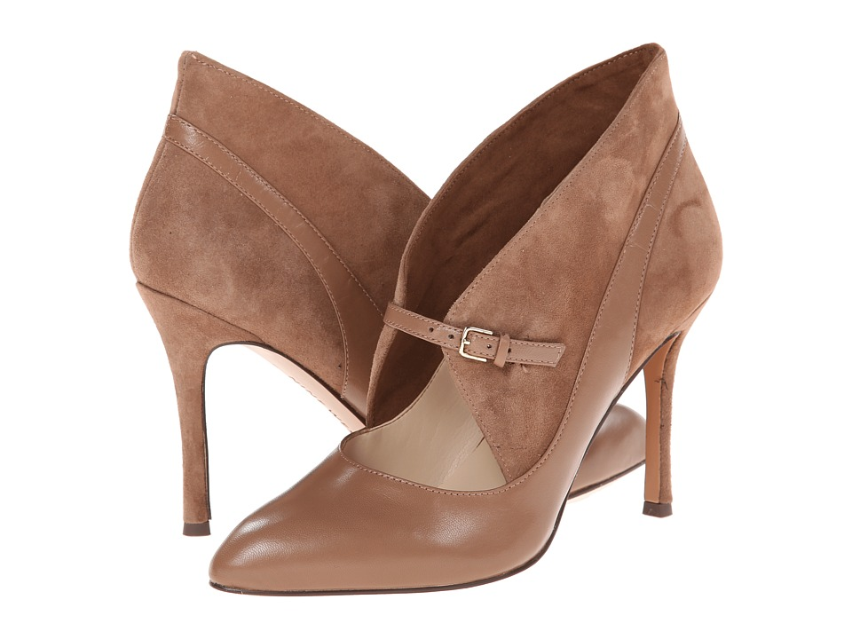 Nine West - Dreamon (Dark Taupe/Dark Taupe Leather) High Heels