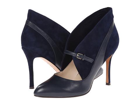 Nine West - Dreamon (Navy/Navy Leather) High Heels