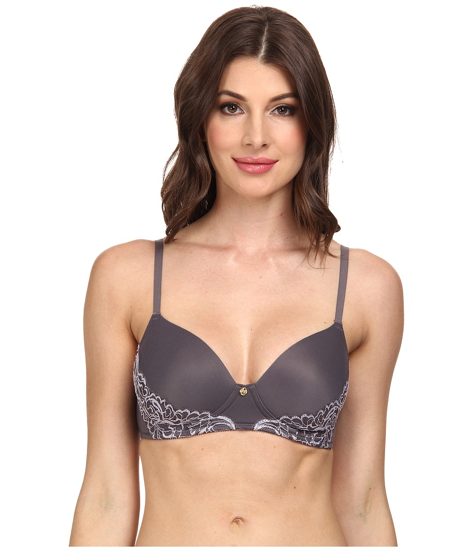 Natori - Dream Touch Contour Soft Cup 737082 (Gunmetal/Morning Mist) Women