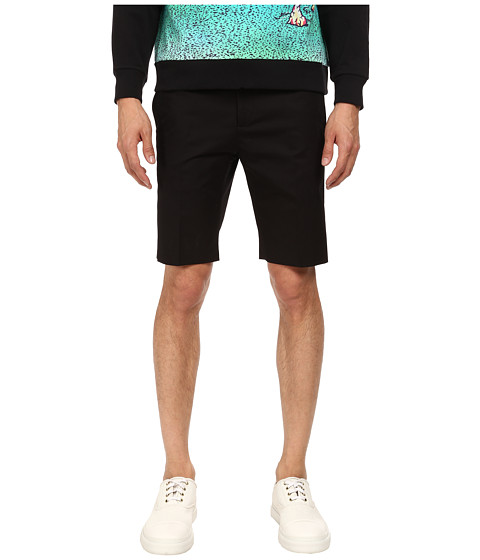 Marc Jacobs - Summer Suiting Shorts (Ebony) Men