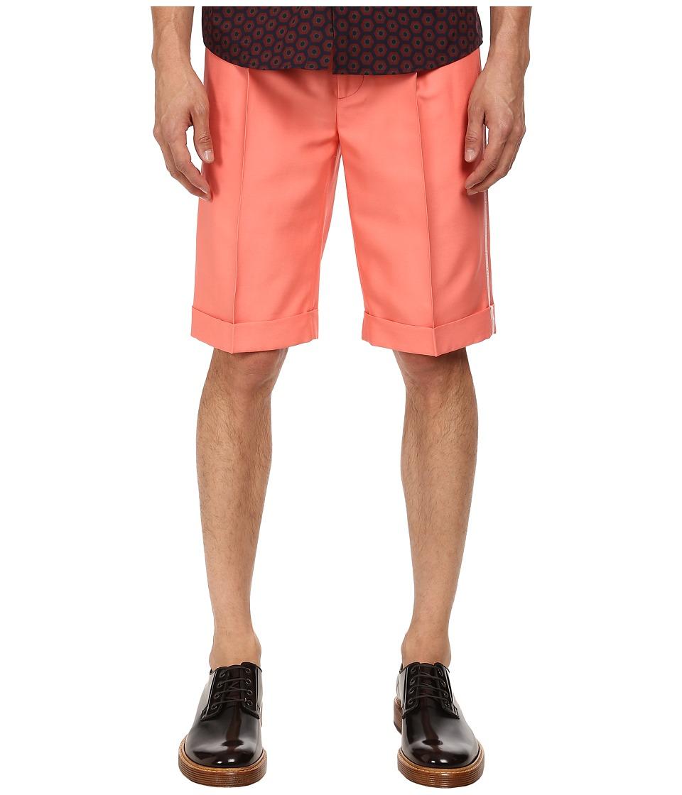 Marc Jacobs - Matte Suiting Shorts (Flamingo) Men