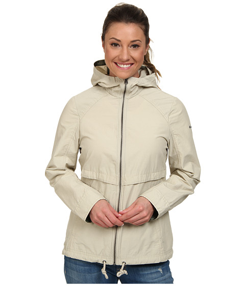 Columbia - Arch Cape III Jacket (Fossil, Cypress Lining) Women