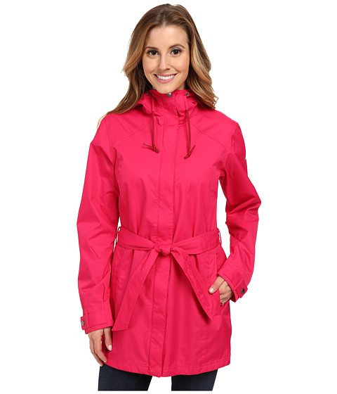 Columbia - Pardon My Trench Rain Jacket (Bright Rose) Women