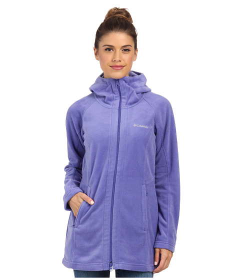 Columbia - Benton Springs II Long Hoodie (Purple Lotus) Women