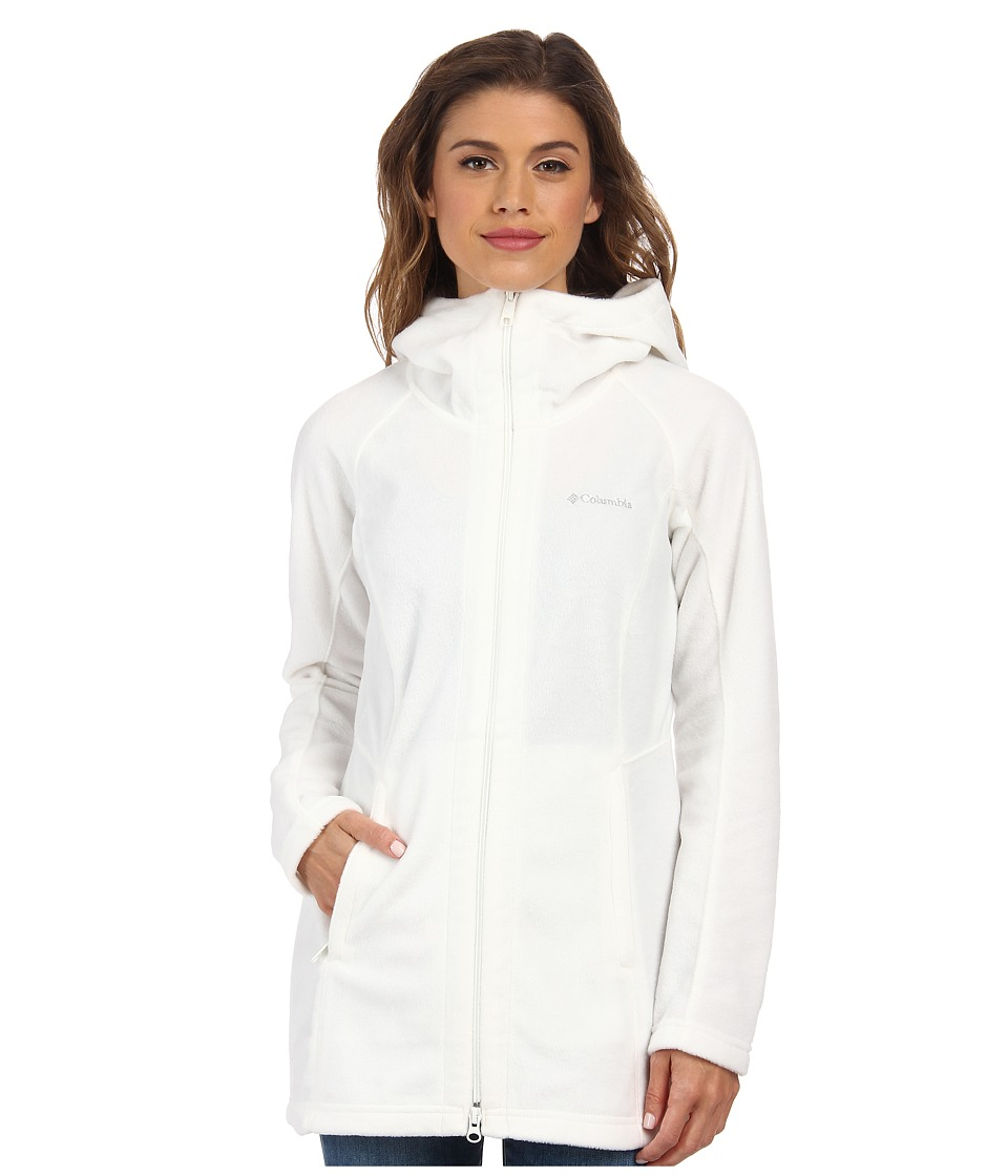 Columbia - Benton Springs II Long Hoodie (Sea Salt) Women's Coat