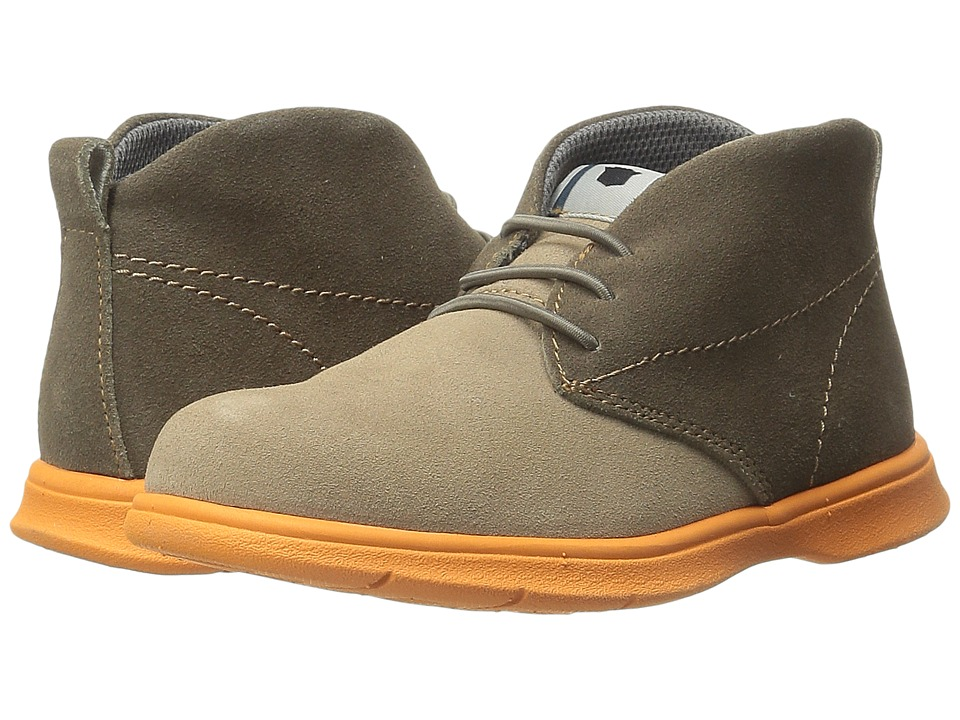 Florsheim Kids - Flites Chukka Jr. (Toddler/Little Kid/Big Kid) (Mushroom Multi) Boy's Shoes