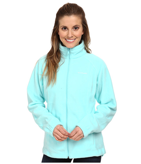 Columbia - Benton Springs Full Zip (Candy Mint) Women's Jacket