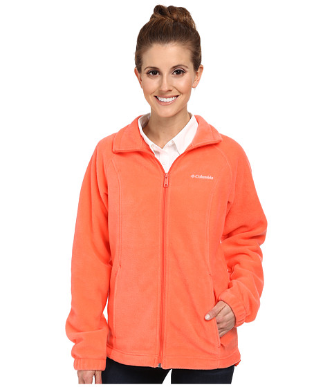 Columbia - Benton Springs Full Zip (Coral Flame) Women's Jacket