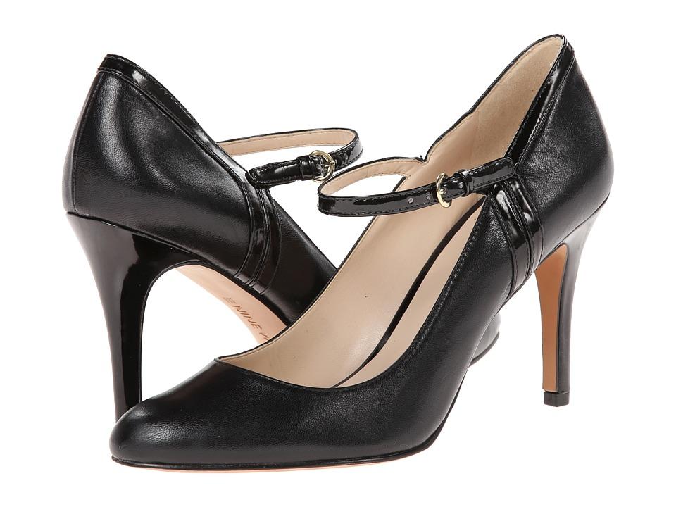 Nine West - Garrie (Black/Black Leather) High Heels