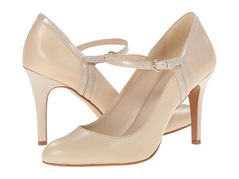 Nine West - Garrie (Off White/Off White Leather) High Heels