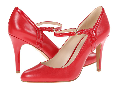 Nine West - Garrie (Red/Red Leather) High Heels
