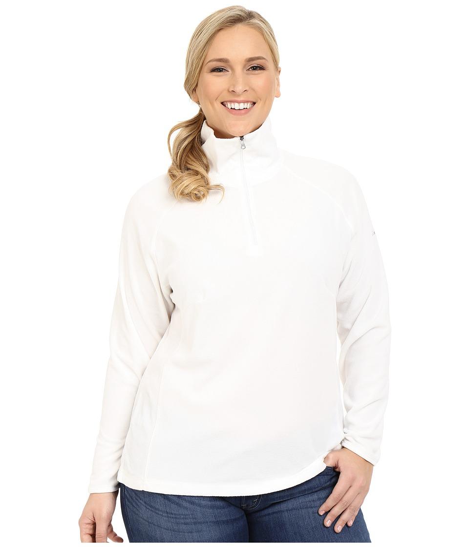 Columbia - Plus Size Glacial Fleece III 1/2 Zip (Sea Salt) Women's Fleece