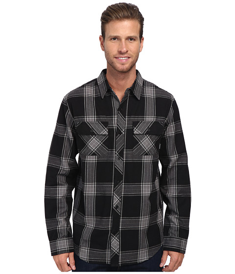 Tavik - Vincent (Jet Black) Men's Long Sleeve Button Up