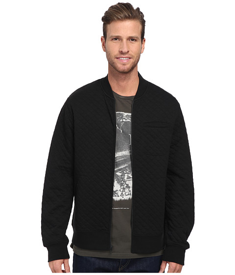 Tavik - Taun Jacket (Jet Black) Men's Fleece