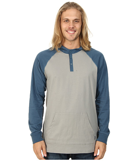 Tavik - Remedy (Ash) Men's Long Sleeve Pullover