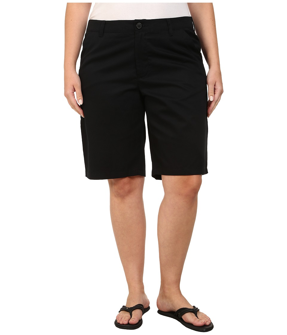 Columbia - Plus Size Kenzie Cove Bermuda Short (Black) Women's Shorts plus size,  plus size fashion plus size appare