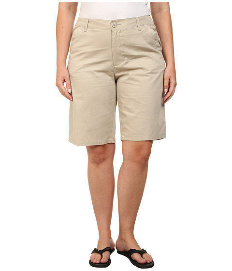 Columbia - Plus Size Kenzie Cove Bermuda Short (Fossil) Women