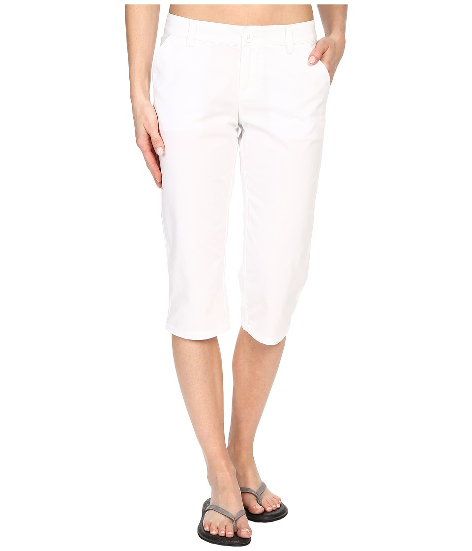 Columbia - Kenzie Cove Capri Pant (White) Women's Casual Pants