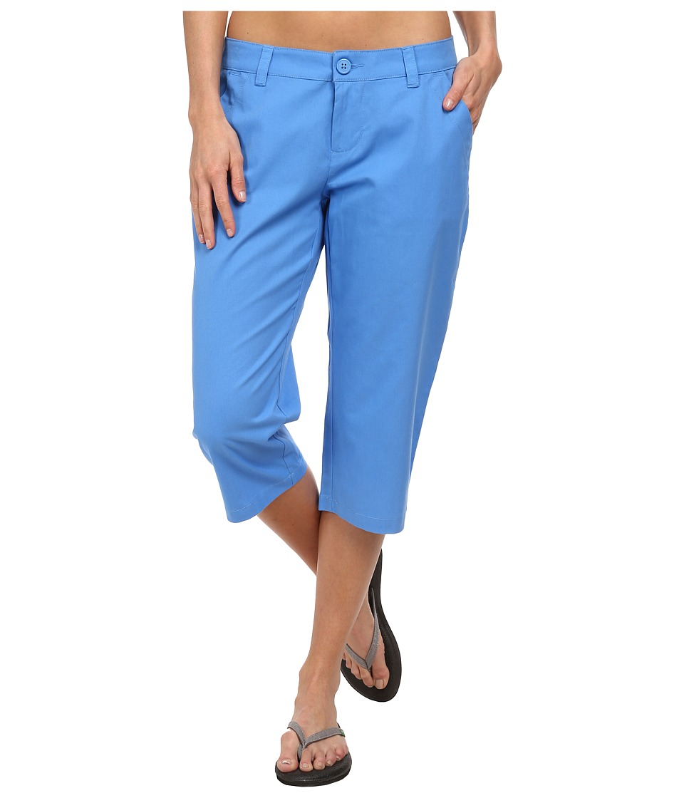 Columbia - Kenzie Cove Capri Pant (Harbor Blue) Women's Casual Pants