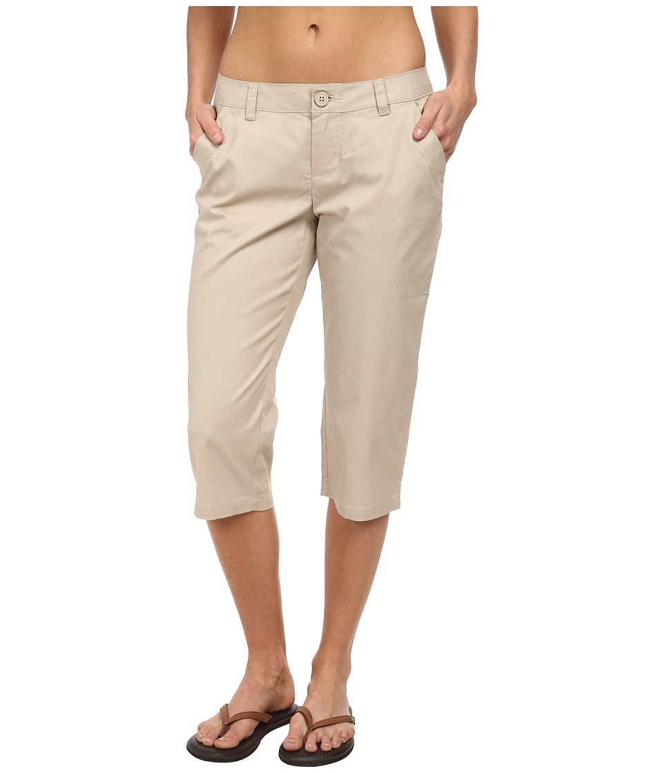 Columbia - Kenzie Cove Capri Pant (Fossil) Women's Casual Pants