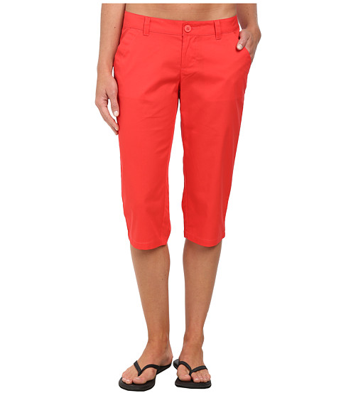 Columbia - Kenzie Cove Capri Pant (Red Hibiscus) Women