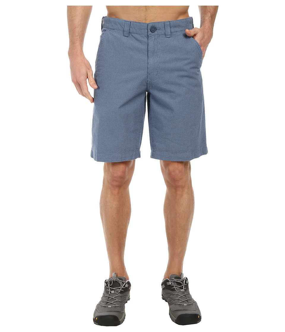 Columbia - Washed Out II Novelty Short (Dark Mirage Gingham) Men's Shorts