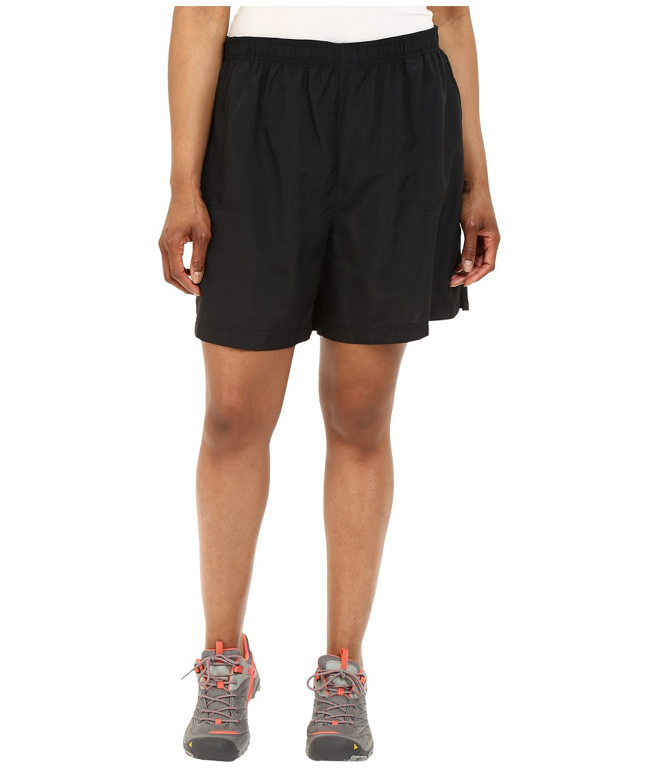 Columbia Plus Size Sandy Rivertm Short (Black) Women