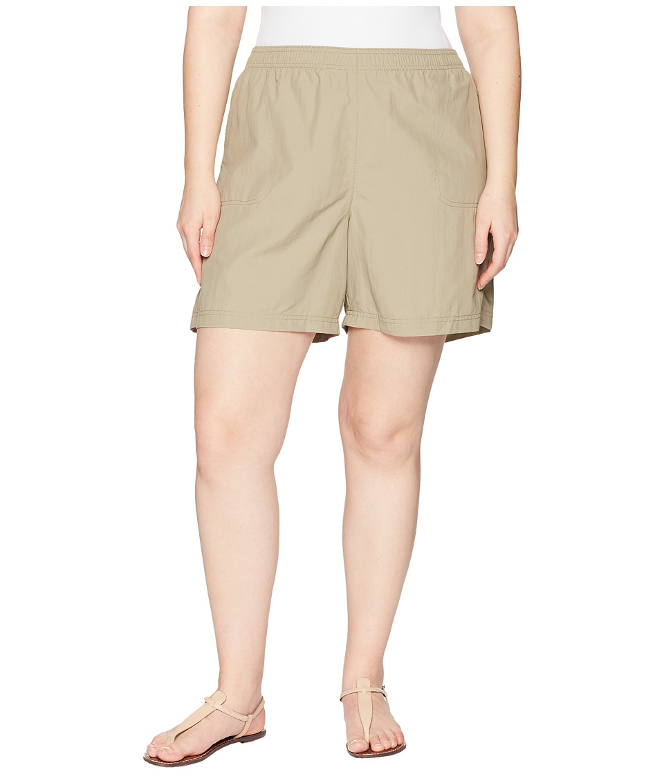 Columbia Plus Size Sandy Rivertm Short (Tusk) Women