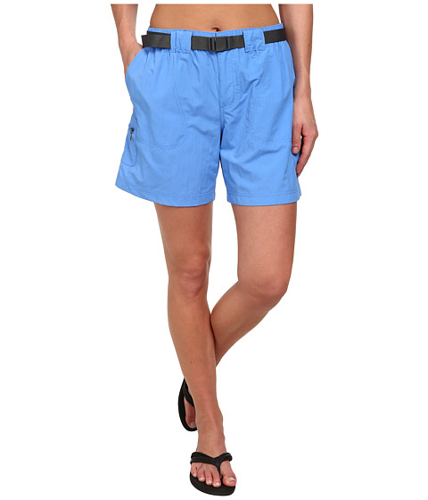 Columbia - Sandy River Cargo Short (Harbor Blue, Grill) Women's Shorts