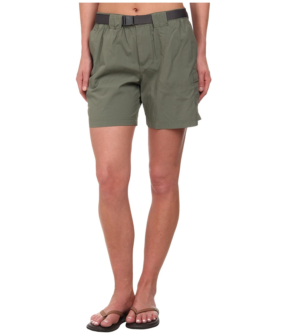 Columbia - Sandy River Cargo Short (Cypress, Grill) Women's Shorts