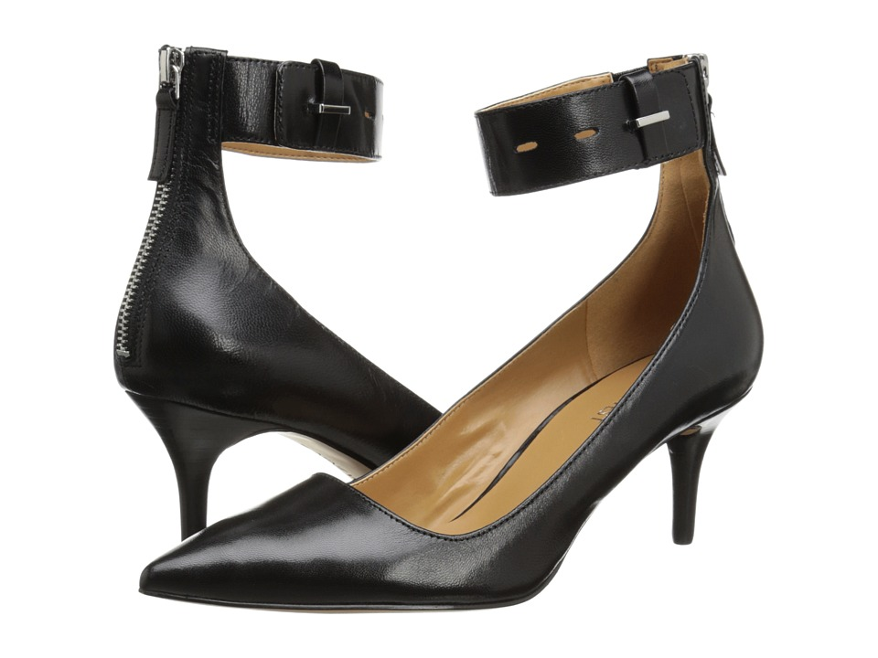 Nine West - Marathon (Black Leather) High Heels