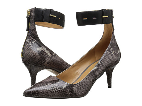 Nine West - Marathon (Grey Multi/Black Synthetic) High Heels