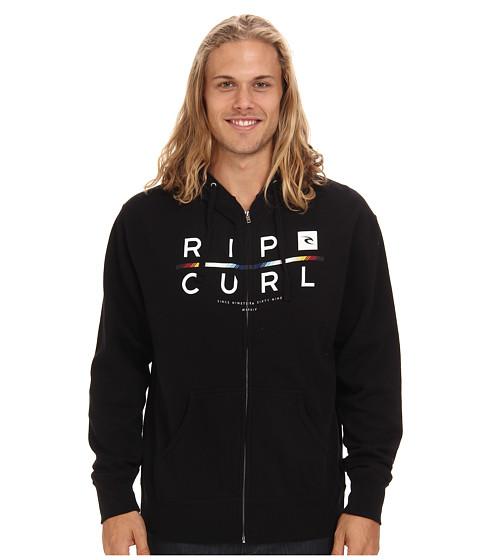 Rip Curl - Hombre Zip Fleece (Black) Men